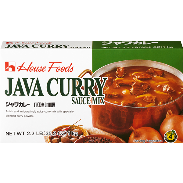 Java Curry Sauce Mix (Roux) Medium Hot 35.27oz