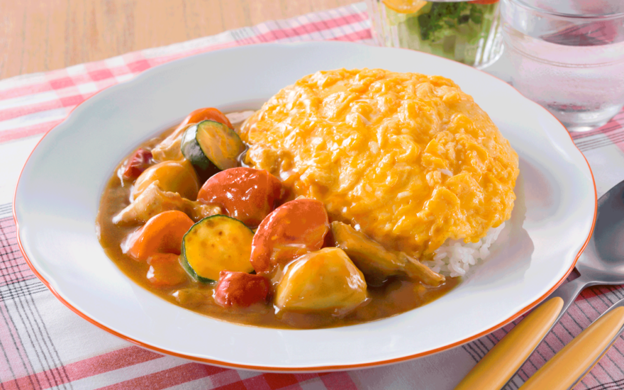 Summer Vegetable Egg Curry